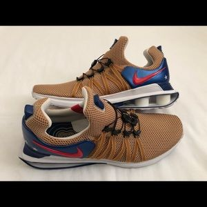 Nike Air Shox Gravity Olympic Men's Gold Blue Red